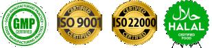 Üretimde üst seviyede Kalite Güvence Sistemi uygulanmaktadır. (ISO9001 - ISO22000) Spirulina Chlorella Yosun ISO 9001-22000