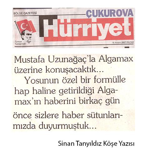AKUATİK Gazete Haberleri Basında Biz