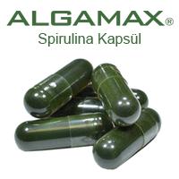 ALGAMAX Spirulina Kapsül