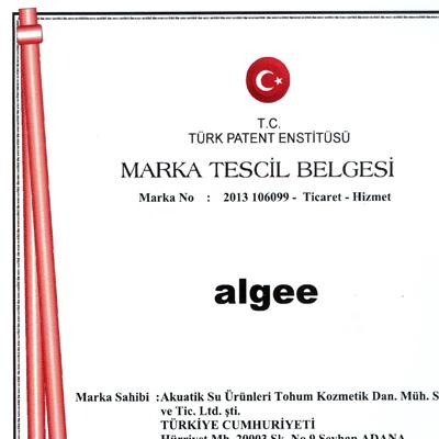 ALGEE Marka Tescil