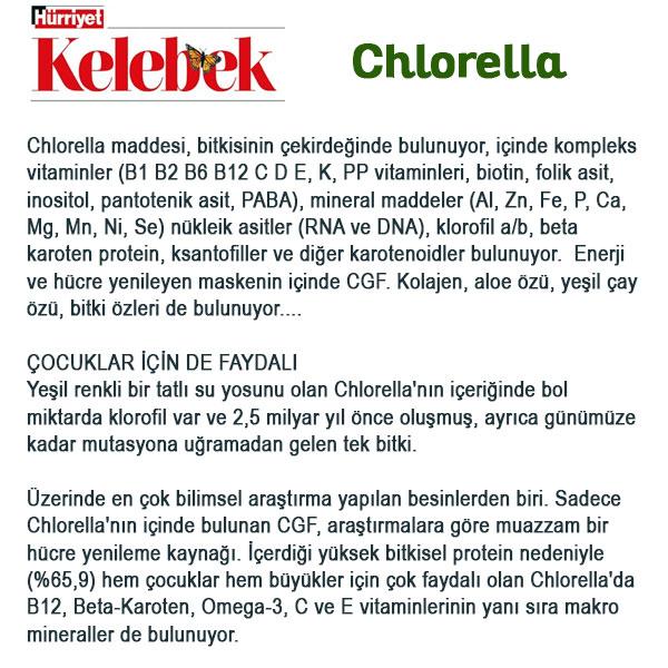 Spirulina Chlorella Hurriyet Kelebek Haberi