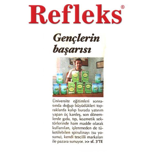 Spirulina Chlorella Klorella Refleks Gazetesi Haberi
